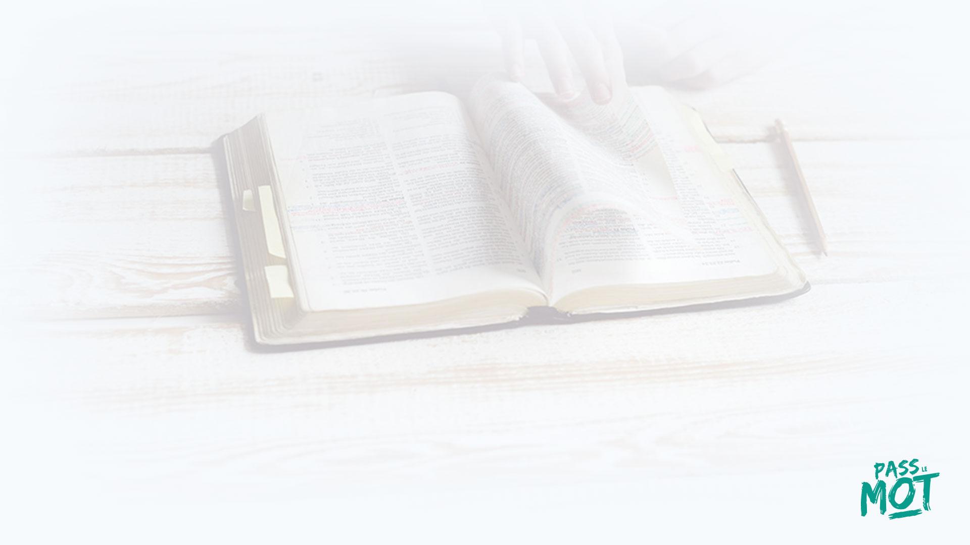 """""""Eternel ! Tu me sondes, tu comprends de loin ma pensée"""" (Ps 139.1-2). Dieu sait tout de toi : tes motivations profondes, tes désirs secrets. PassLeMot"""